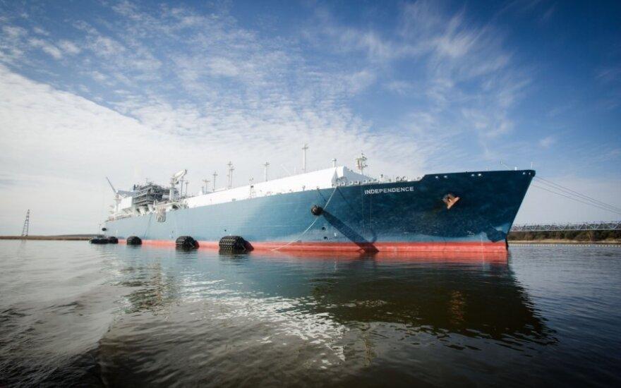 Į Klaipėdą keliauja naujas SGD krovinys