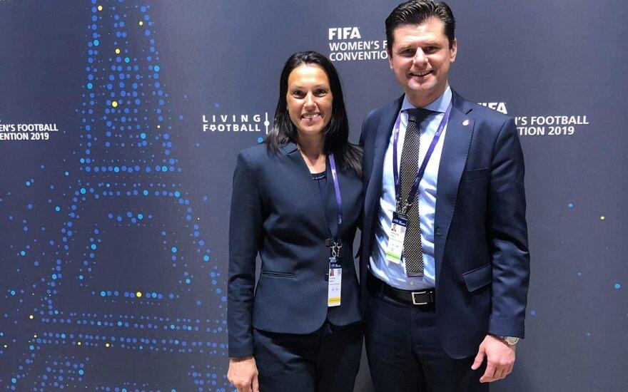 Ingrida Siliūnienė ir Tomas Danilevičius