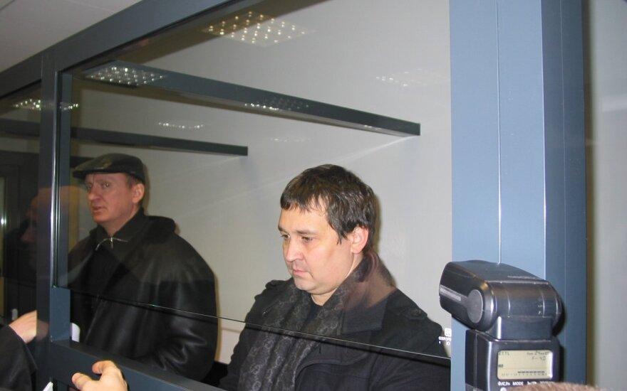 R. Dromantas (kairėje) ir R. Užukauskas