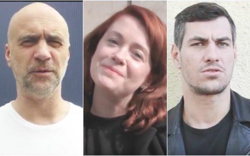Algis Ramanauskas-Greitai, Erica Jennings, Justinas Jankevičius