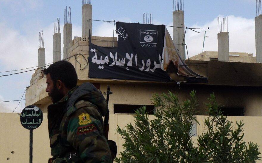 """JT ataskaita: Irake ir Sirijoje tebėra iki 30 tūkst. """"Islamo valstybės"""" kovotojų"""