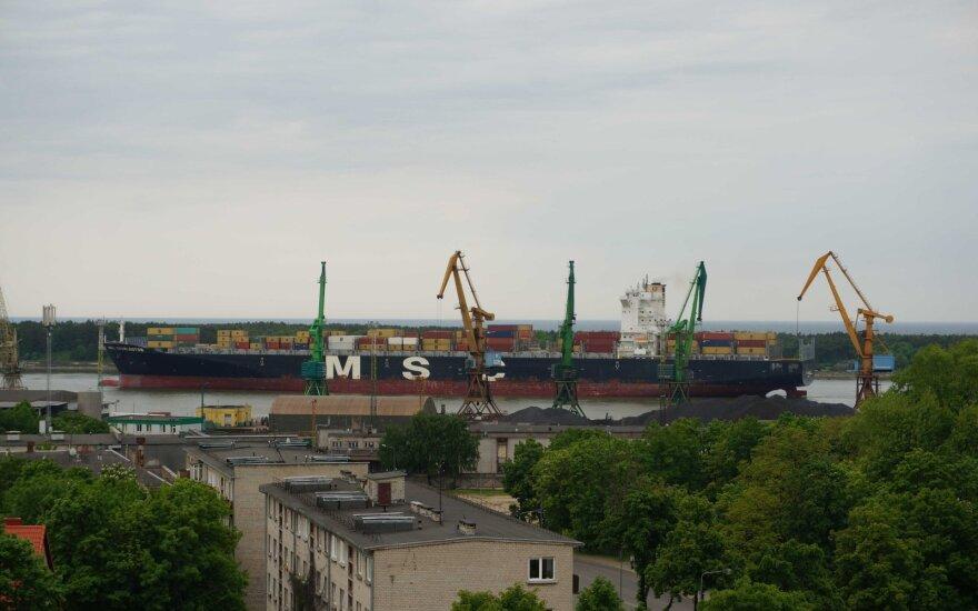 Į Klaipėdą atvyksta SGD krovinys iš Vysocko