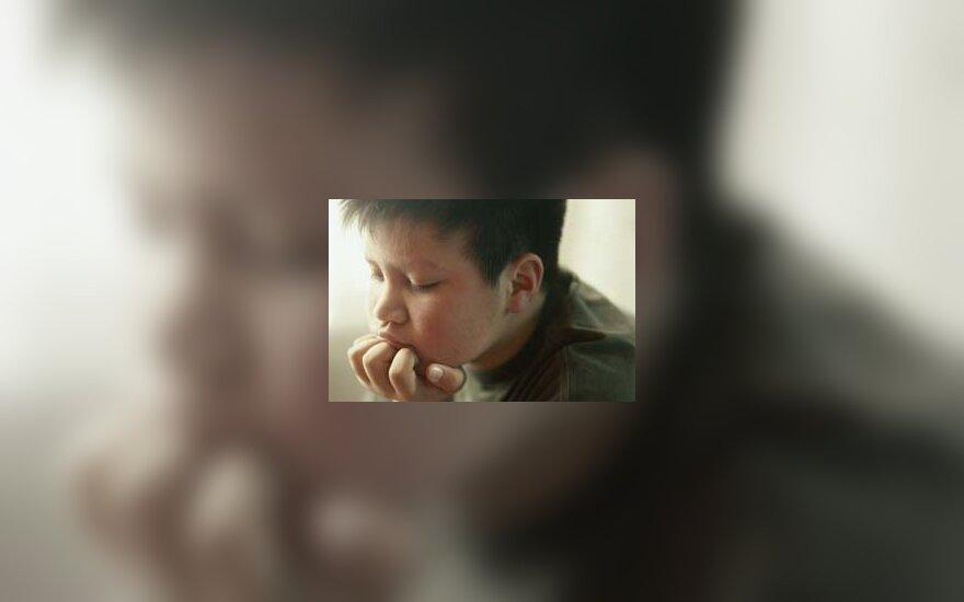 Liūdnas vaikas, depresija