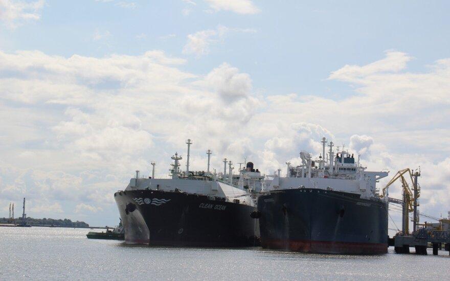 """Nyderlandų laivų statykla pradėjo statyti """"Eesti Gaas"""" skirtą SGD bunkeriavimo laivą"""