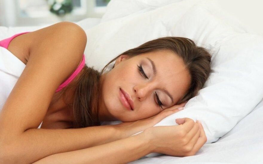 Kiek reikia miegoti, kad nepakirstų virusai