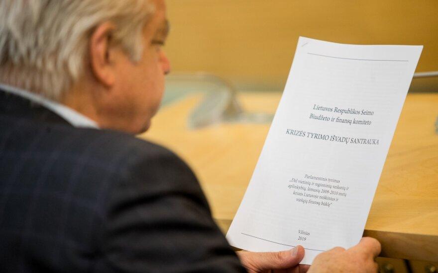 Pateikė krizės tyrimo išvadas: Lietuvos bankas toleravo agresyvią Skandinavijos bankų kovą