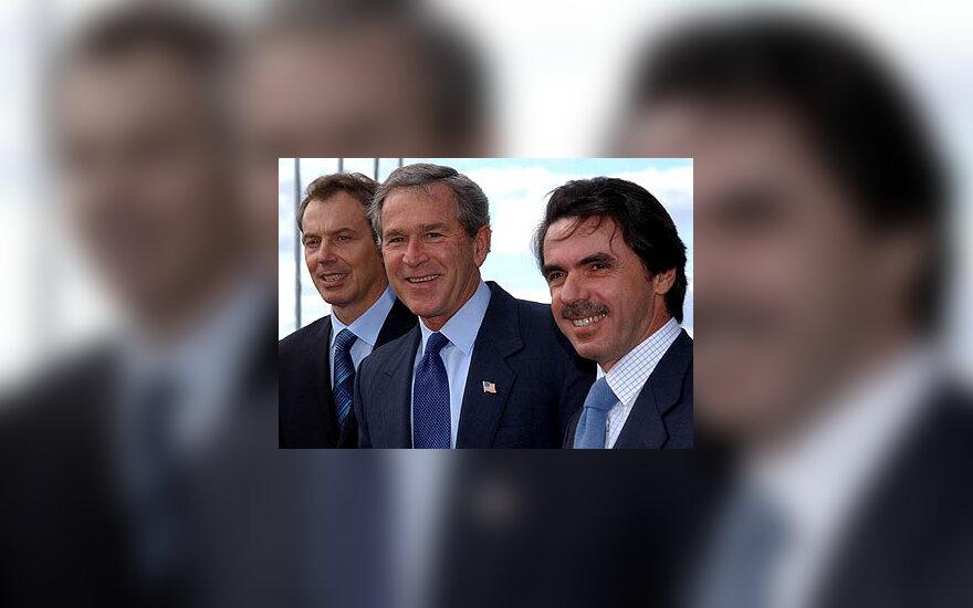 Tony Blair, George W. Bush, Chose Maria Aznar