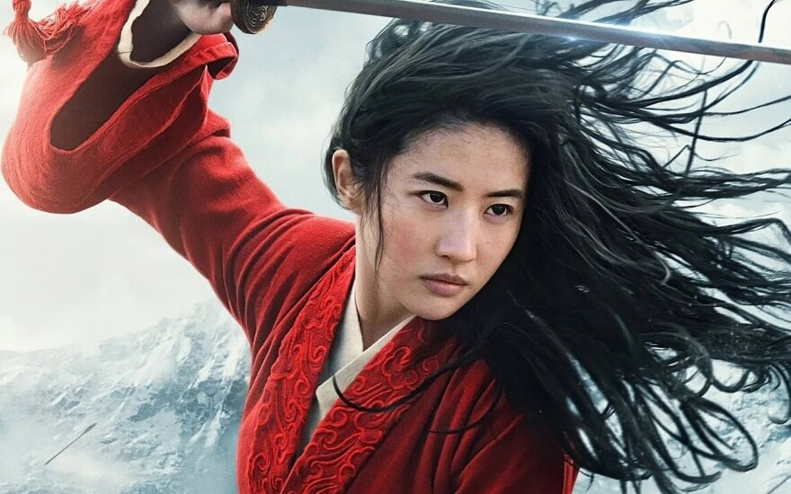 """Kadras iš filmo """"Mulan"""""""