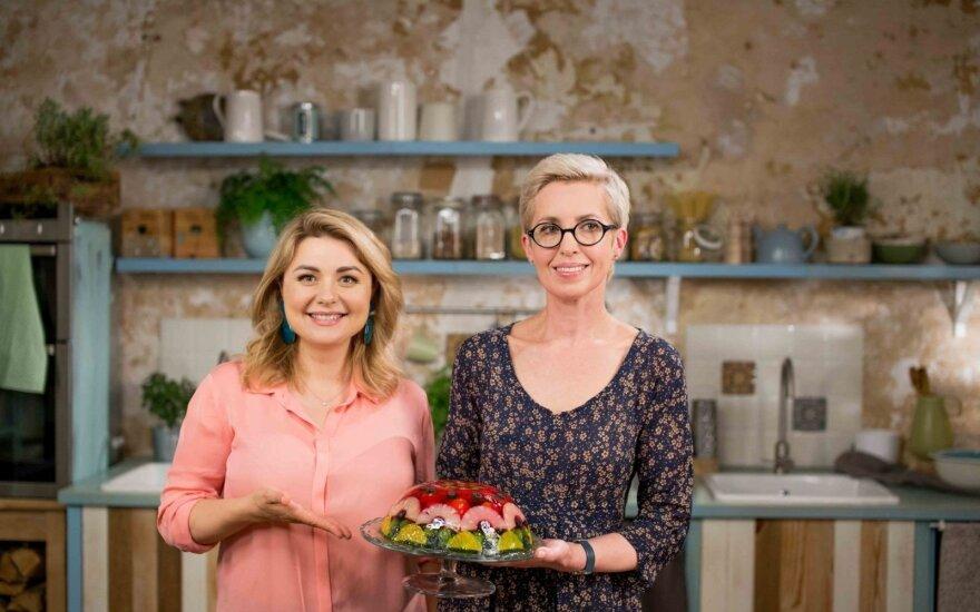 Beata Nicholson ir Elvana Mackevičienė