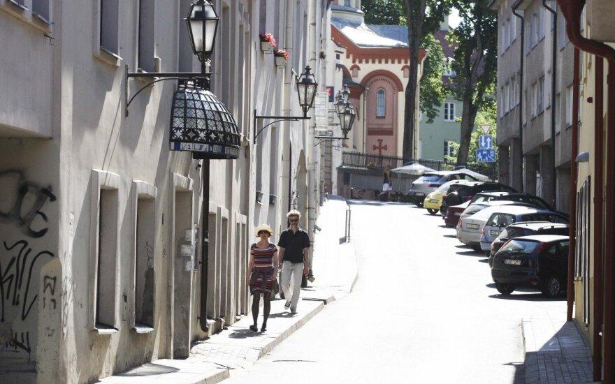 Tuščias Vilnius
