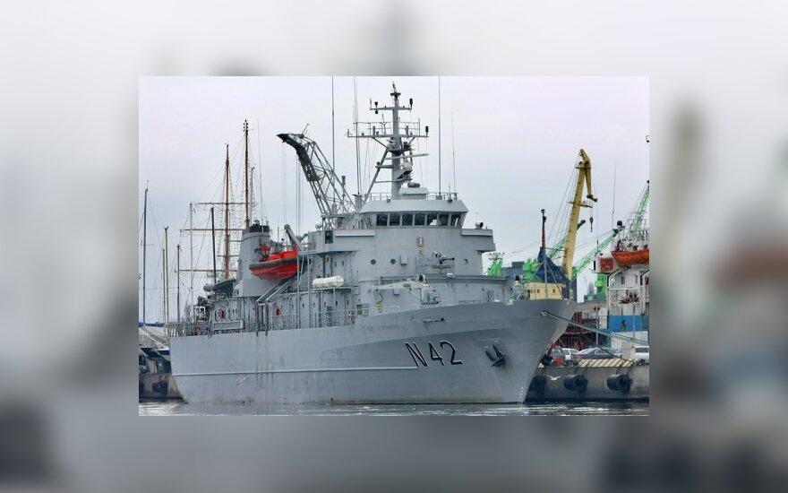 """Karinių jūrų pajėgų laivas """"Jotvingis"""""""