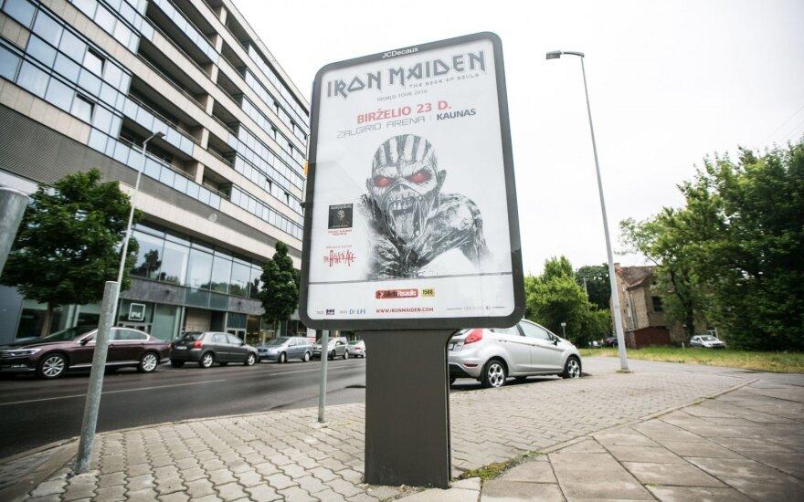 """""""Iron Maiden"""" plakato Lietuvoje išsigando suaugusieji, o ne vaikai?"""