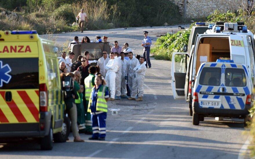 Paskelbta naujų detalių: prieš Maltos žurnalistę – barbariška ataka