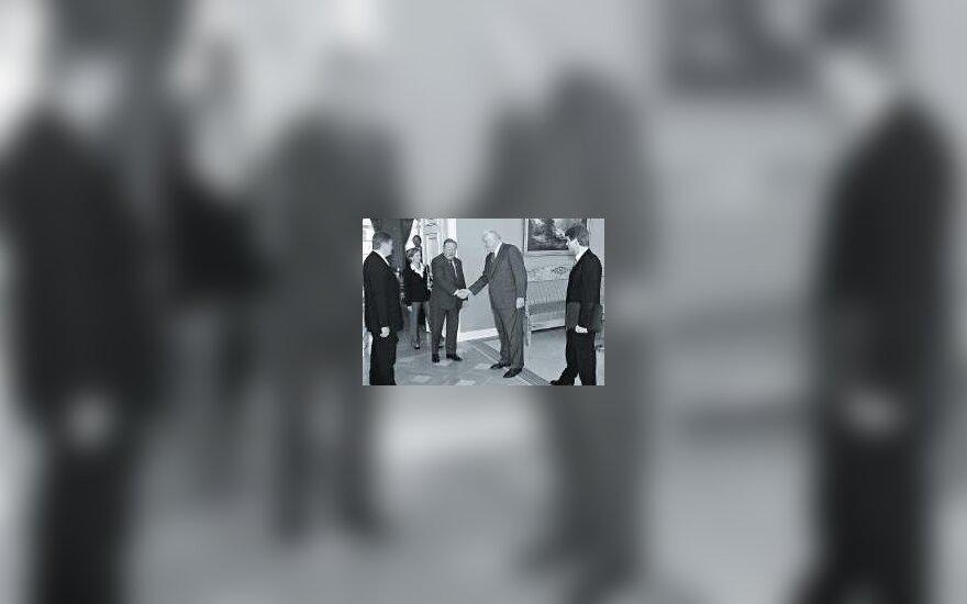 Susitikimas prezidentūroje