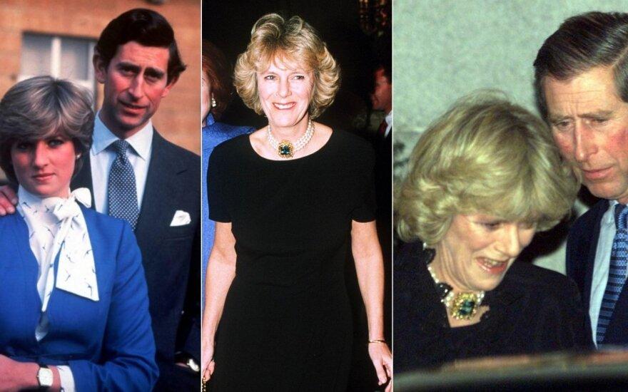 Princesė Diana, Camilla Parker Bowles ir princas Charlesas