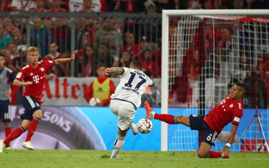 """Vokietijoje – nelengva pirma """"Bayern"""" pergalė"""