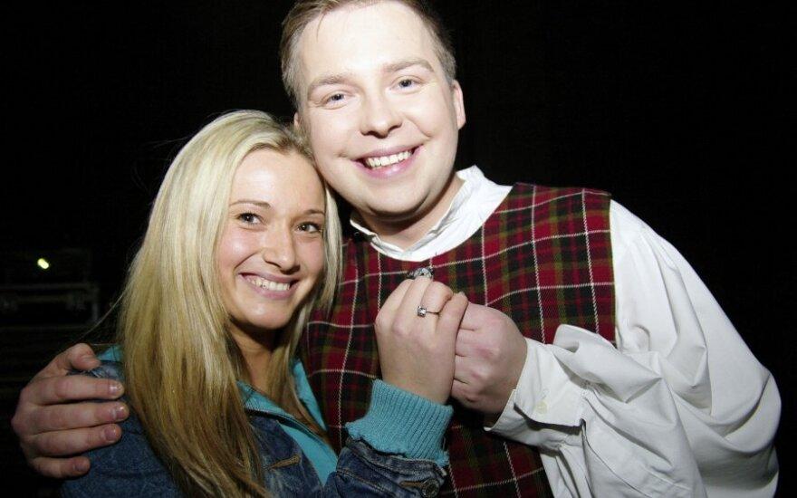 Juozas Butnorius ir Viktorija Vanagaitė