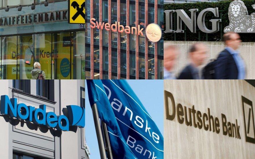"""Didžiausiems ES bankams iki atitikties """"Bazeliui IV"""" trūksta 135 mlrd. eurų – EBI"""