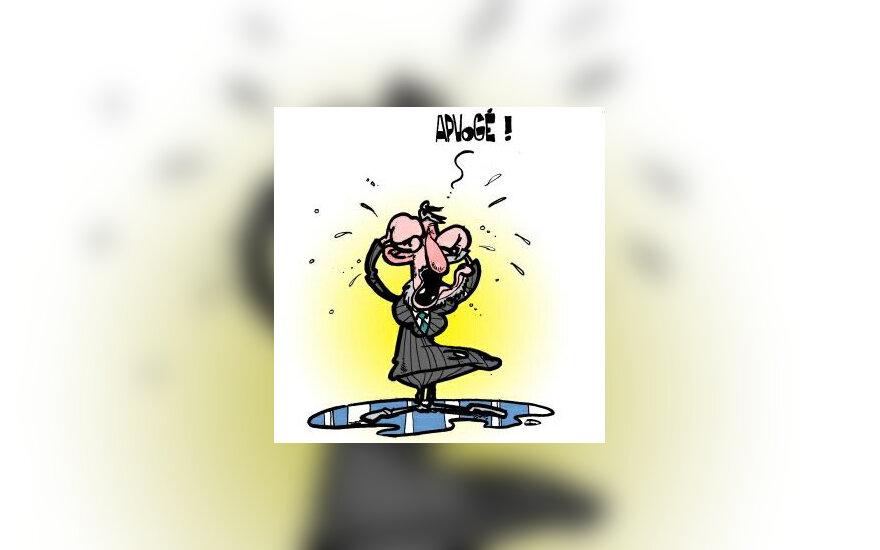 G.Šurkus - karikatūra