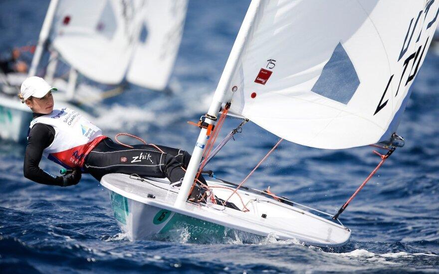 Viktorija Andrulytė / FOTO: Sailing Energy