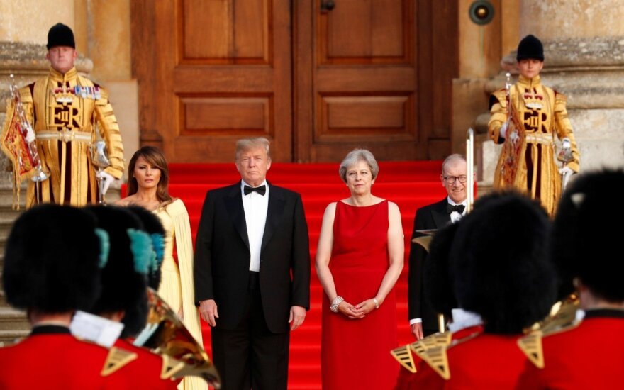 Donaldo Trumpo ir Theresos May susitikimas