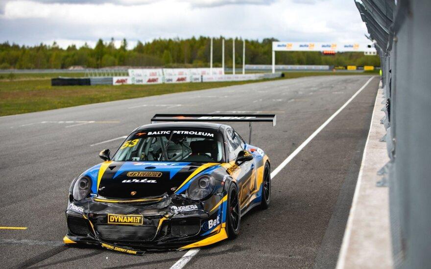 """""""Dynami:T Energy"""" komandos testai Estijoje su """"Porsche"""""""