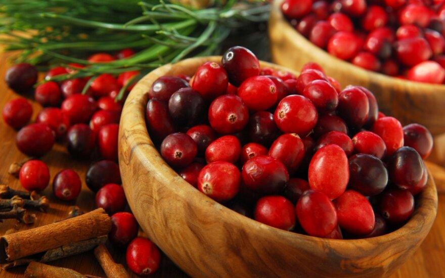 Spanguolėse - vitaminų lobiai