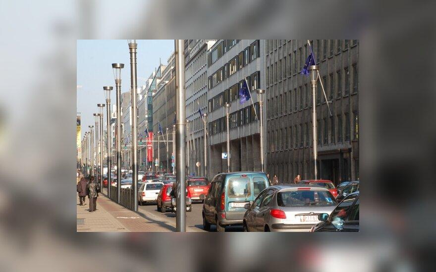Briuselis pirmauja Europoje pagal transporto spūstis