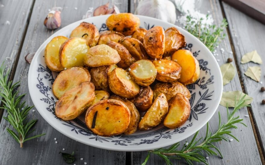 Ypatingai keptos bulvytės