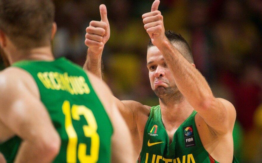 Nuostabų kėlinį sužaidusi Lietuvos rinktinė iškovojo pirmą pergalę – pranoko Izraelį