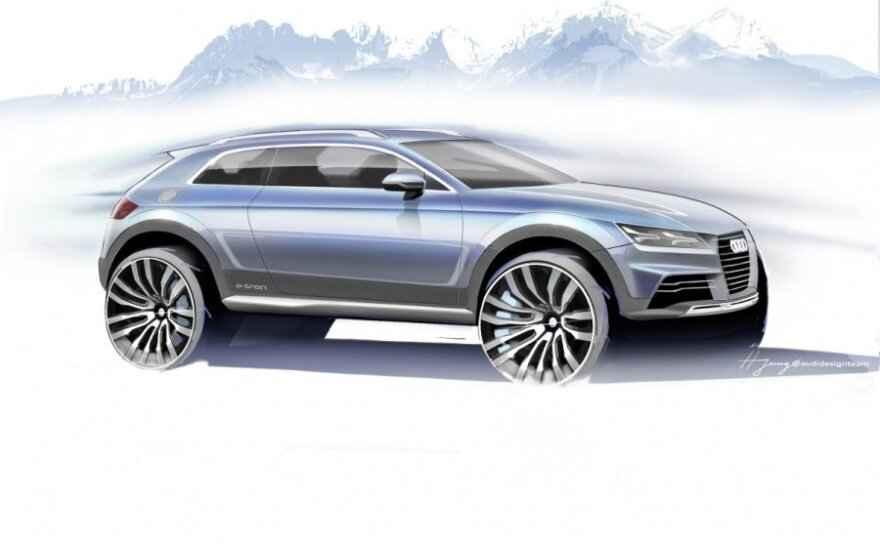 Audi Q1 koncepcija