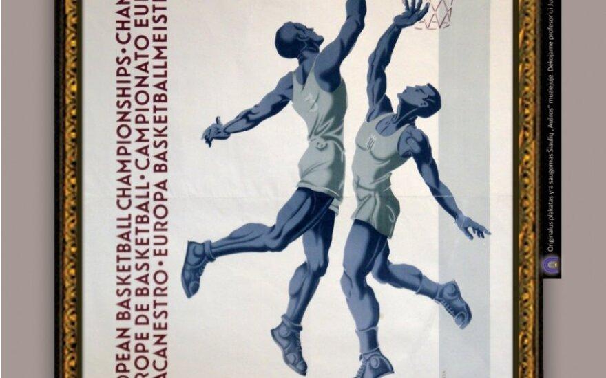 J.J. Burbos krepšinio plakatas