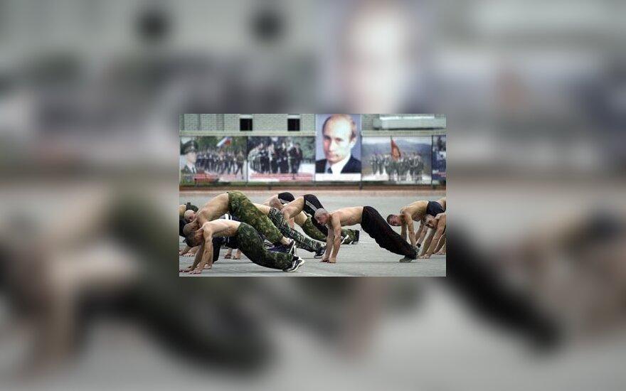 Čečėnijoje per ataką žuvo trys Rusijos kariai