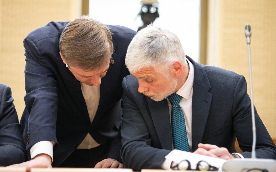 Ramūnas Karbauskis and Bronius Markauskas