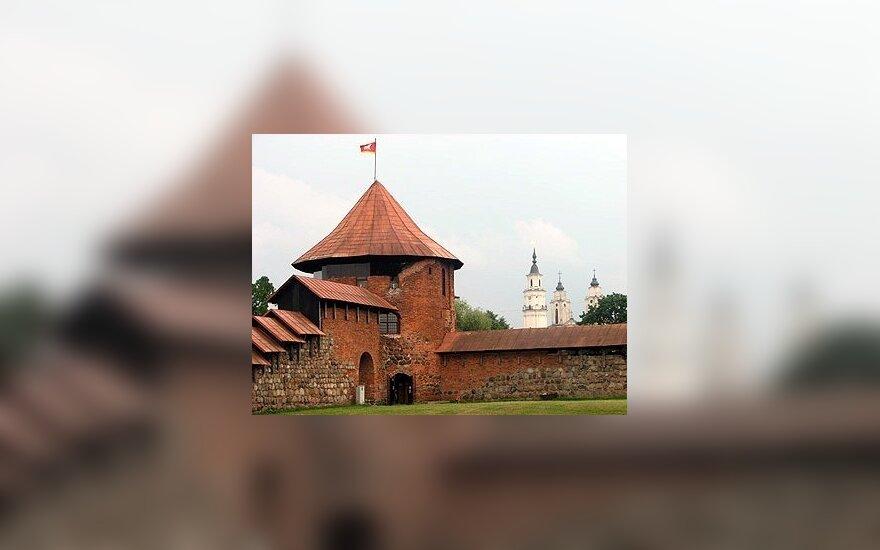 Svarstoma, kaip parengti Kauno pilies liekanas žiemai