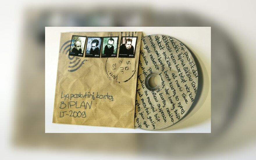 """""""Biplan"""" singlo """"Lyg paskutinį kartą"""" kompaktinis diskas"""