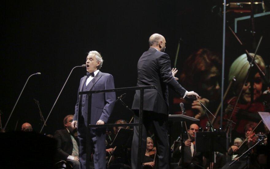 Andrea Bocelli sugrįžo į Lietuvą: nepamirštamas tenoro pasirodymas Kaune