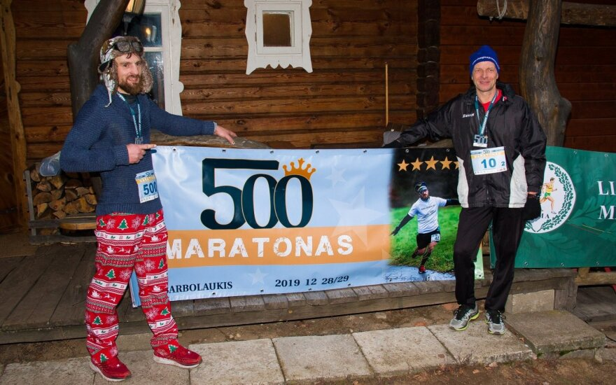Mindaugo Garmaus 500-asis maratonas