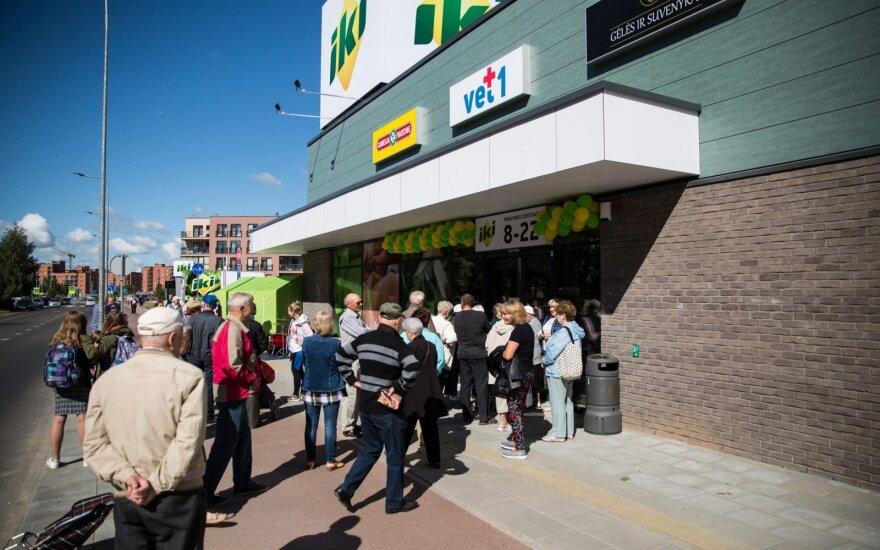 Nauja IKI parduotuvė Pašilaičiuose, Vilniuje