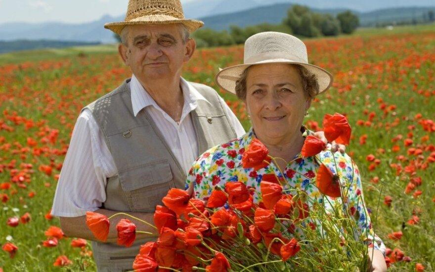 Lietuvoje – analogų neturinti šventė ilgaamžėms poroms