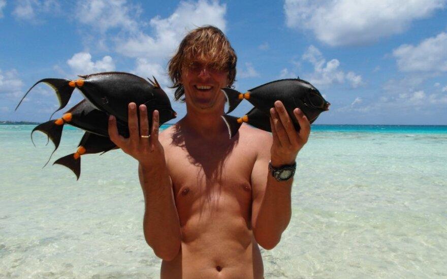 25 metai svajonės link: du mėnesiai tolimoje Polinezijoje
