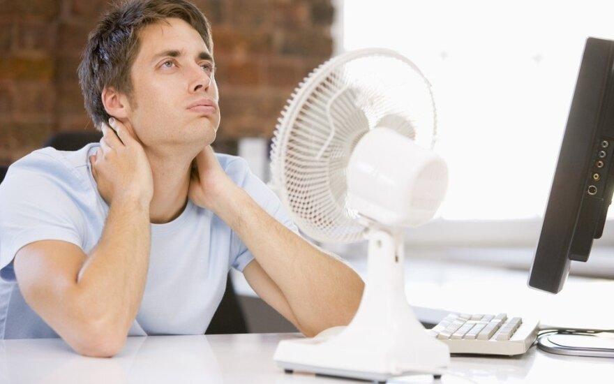 Kaip gelbėtis nuo karščio, jei neturite kondicionieriaus