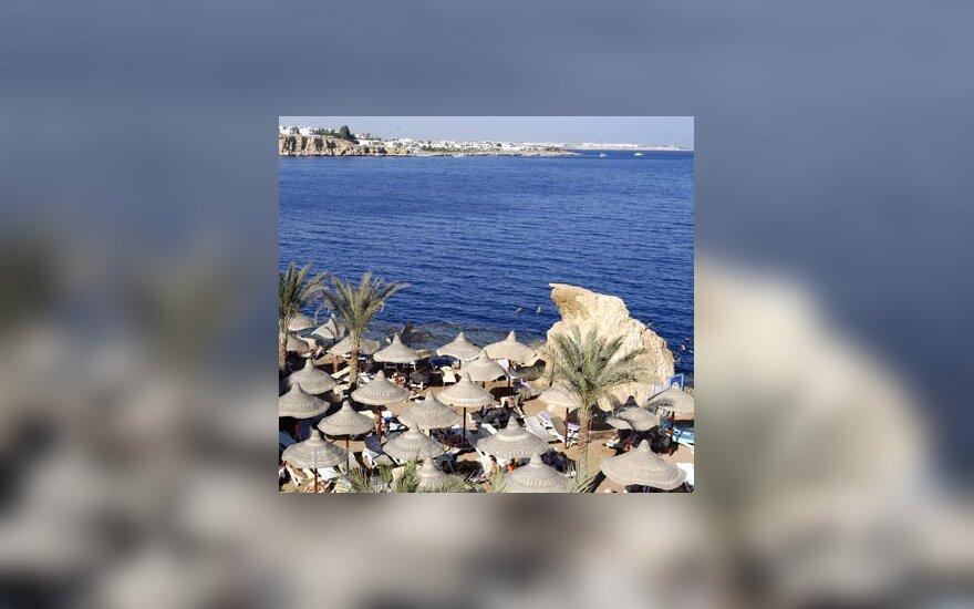 Egiptas, jūra, poilsis