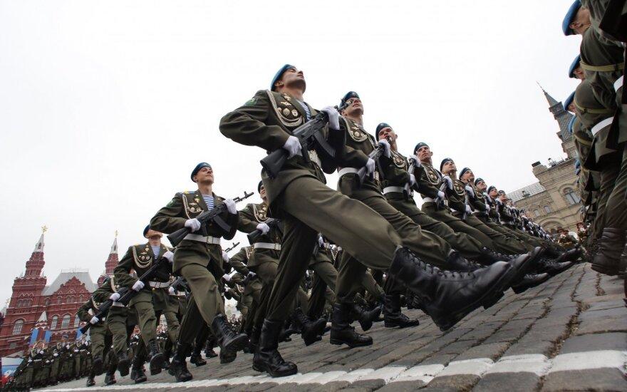 """""""Bloomberg"""": Rusija siaučia vis agresyviau"""