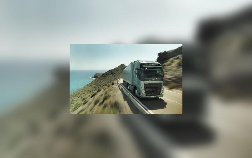 """""""Volvo Trucks"""" naujovė: buvimo vietos nustatymo paslauga"""