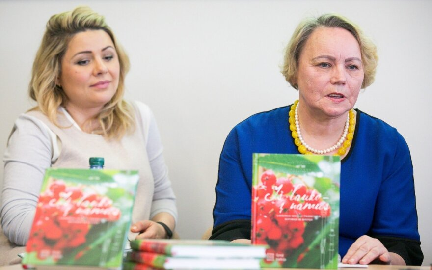 Beata Nicholson, Nijolė Marcinkevičienė