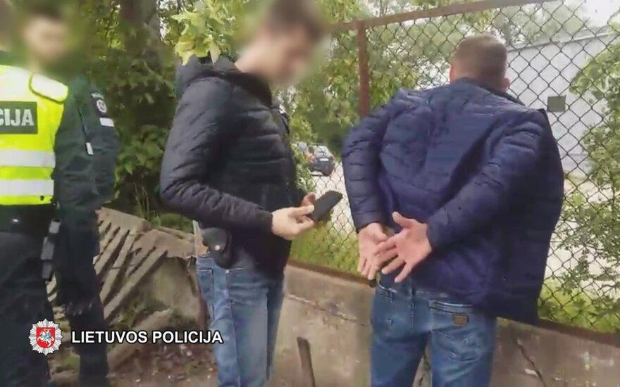 Uostamiestyje sulaikyti trys sukčiavimu įtariami asmenys, vienas jų – nepilnametis