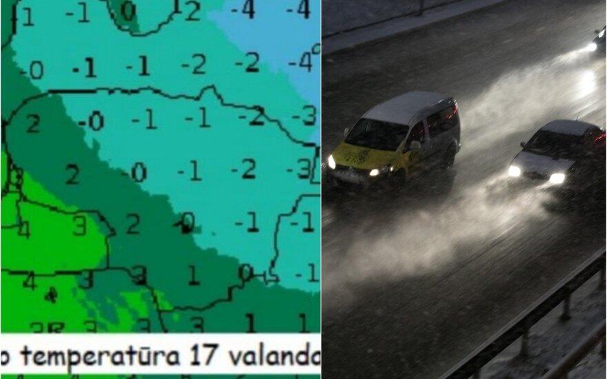 Apie žiemą pamiršusiems lietuviams – sinoptikų įspėjimas: būkite atsargūs
