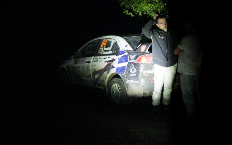 V. Švedas apie WRC etapą: tai buvo vienos sunkiausių lenktynių mano karjeroje