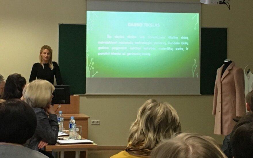 G. Kildišienė Vilniaus kolegijoje gina diplominį darbą
